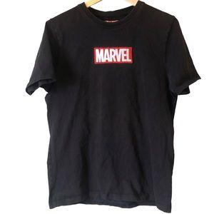 MARVEL   Embroidered logo tshirt
